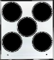 Primera Eddie Manual Tray 47mm 5 Circles (53259DTM-M0013)