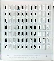 Primera Eddie Manual Tray 6/7mm x 11/12mm 77 cavity (53259DTM-M0014)