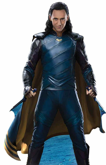 Loki from Thor: Ragnarok, Lifesize Cutout