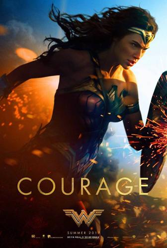 Stunning original poster for Wonder Woman
