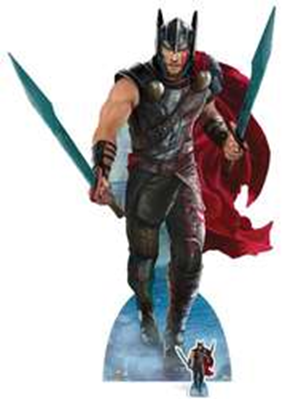 Thor: Ragnarok lifesize cardboard cutouts