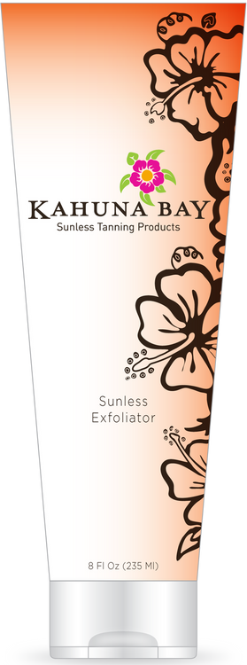 Sunless Exfoliator 8oz by Kahuna Bay Tan