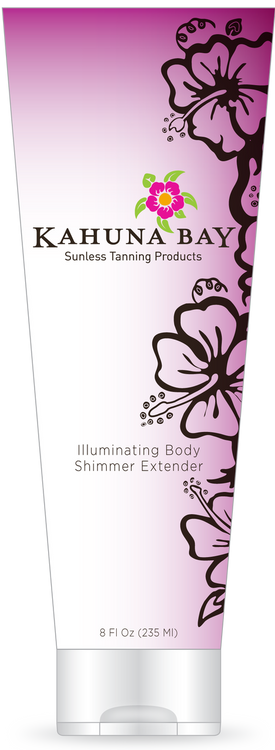Illuminating Body Shimmer Extender 8oz by Kahuna Bay Tan