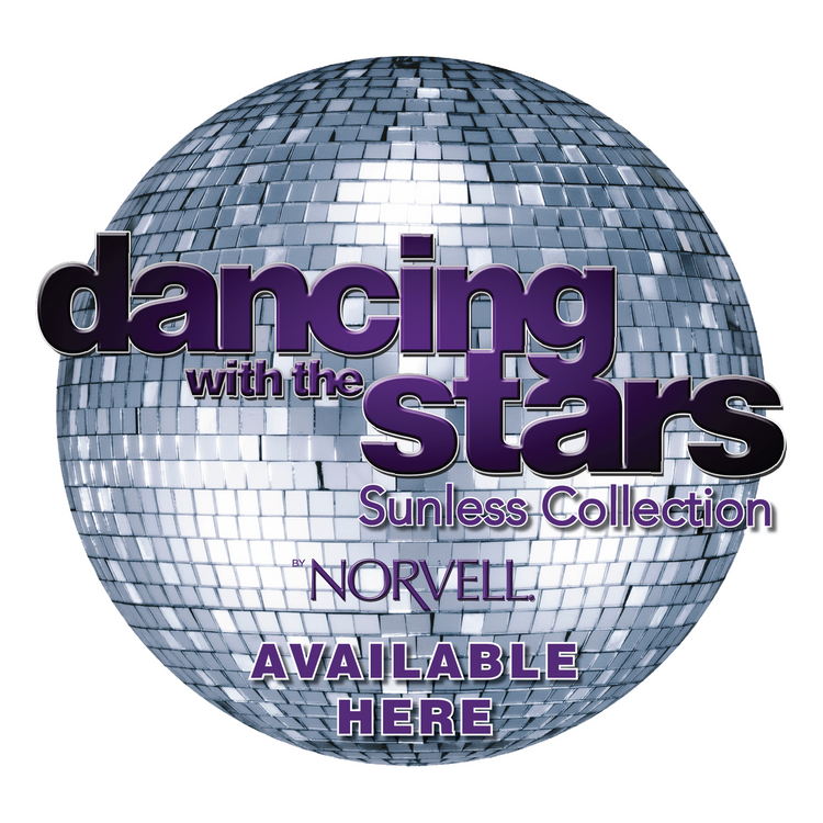 Dancing with the Stars by Norvell Window Cling