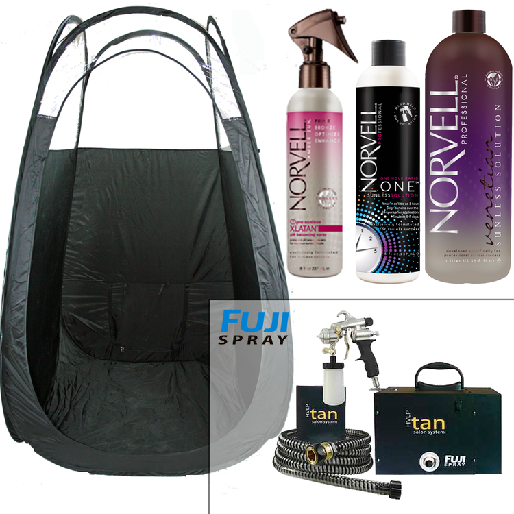 Fuji Spray 2150 Ultra Quiet Tanning Business kit