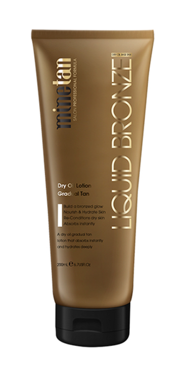 MineTan Liquid Bronze Gradual Tan, 6.7 oz