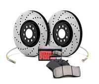 StopTech Sport Front Brake Kit for Hyundai Genesis 2010+ (w/ Brembo)