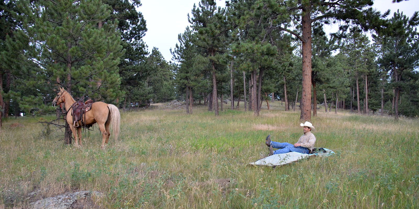 Horseback Trips with 5 Owls Personal Tents