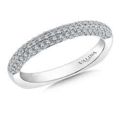 Valina Wedding Band R088BW