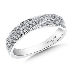 Valina Wedding Band R098BW