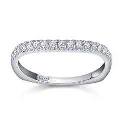 Valina Wedding Band R144BW