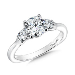 Valina Round Solitaire Engagement Ring R9590W