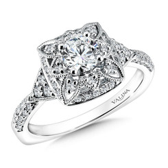 Valina Round Solitaire Engagement Ring RQ9601W