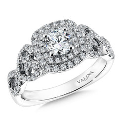 Valina Round Solitaire Engagement Ring RQ9606W