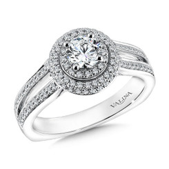 Valina Round Solitaire Engagement Ring RQ9607W