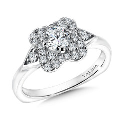 Valina Round Solitaire Engagement Ring RQ9608W