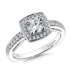Valina Round Solitaire Engagement Ring RQ9610W