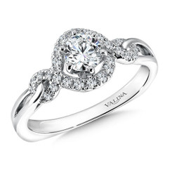 Valina Round Solitaire Engagement Ring RQ9618W