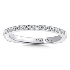 Valina Wedding Band R9627BW