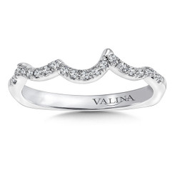 Valina Wedding Band R9673BW