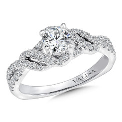 Valina Round Split Shank Engagement Ring RQ9672W