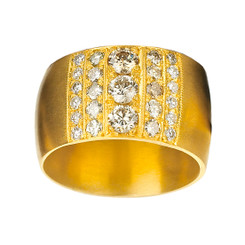 Suneera Nia Yellow Gold Band