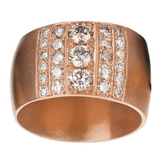 Suneera Nia Rose Gold Band