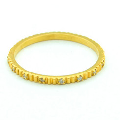 Suneera Lori Yellow Gold Band