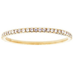 Suneera Quinn Eternity Yellow Gold Band