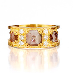 Suneera Zara Yellow Gold Band