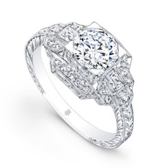 Beverley K Diamond Engagement Ring R105(A)-DDM