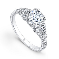 Beverley K Diamond Engagement Ring R112(A)-DDM