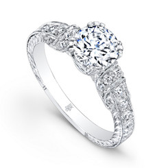 Beverley K Diamond Engagement Ring R168(A)-DDM