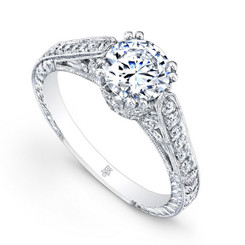 Beverley K Diamond Engagement Ring R169(A)-DDM