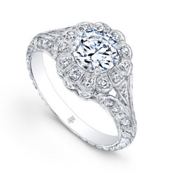 Beverley K Diamond Engagement Ring R170(A)-DDM