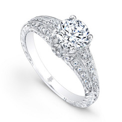 Beverley K Diamond Engagement Ring R183(A)-DDM
