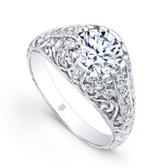 Beverley K Diamond Engagement Ring R186(A)-DDM
