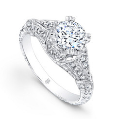 Beverley K Diamond Engagement Ring R191(A)-DDM
