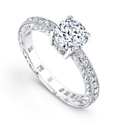 Beverley K Diamond Engagement Ring R259(A)(WF)-DDM
