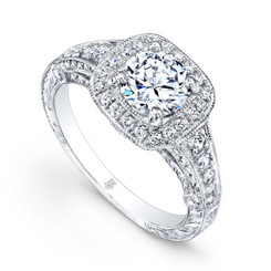 Beverley K Diamond Engagement Ring R288(A)-DDM