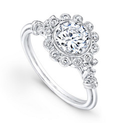 Beverley K Diamond Engagement Ring R376(A)-DDM