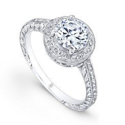 Beverley K Diamond Engagement Ring R378(A)(WF)-DDM