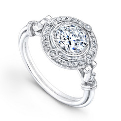 Beverley K Diamond Engagement Ring R389(A)-DDM
