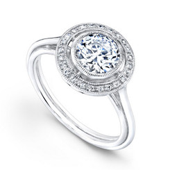 Beverley K Diamond Engagement Ring R391(A)-DDM