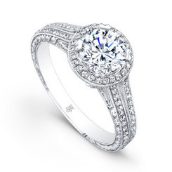 Beverley K Diamond Engagement Ring R658(A)-DDM