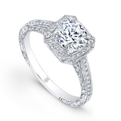 Beverley K Diamond Engagement Ring R685(A)-DDM