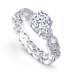 Beverley K Diamond Engagement Ring R769(A)-DDM