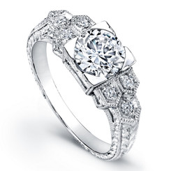 Beverley K Diamond Engagement Ring R811-DD