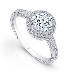 Beverley K Diamond Engagement Ring R863(A)(WF)-DDM