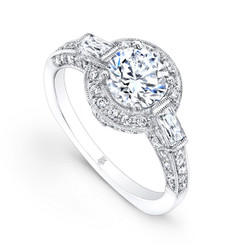 Beverley K Diamond Engagement Ring R1180(A)-DDM